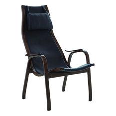 Mid-Century Chair - Brown, Rubberwood
