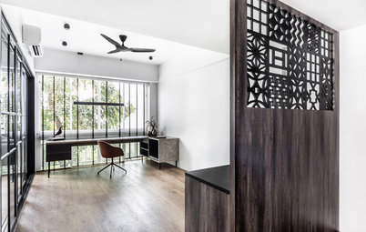 Houzz Tour: Peranakan Patterns Add Old-School Charm to This Condo
