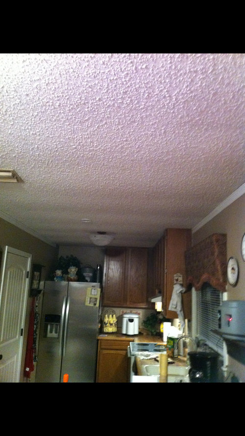 I Have Also Removed The Popcorn Ceiling Since This Picture Was Taken What Are Some Ideas That You Can Help Me With As Far Correcting Problem
