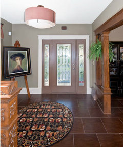 I Have Wood Grained Tiles 18 X 18 Throughout My Main Level.... They Look  Great. Take A Look Http://www.welcomehomedesmoines.com/remodel0110.html