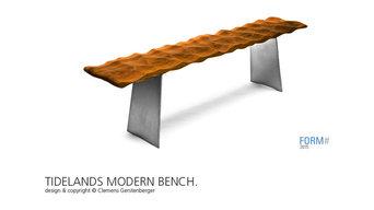 TIDELANDS MODERN BENCH