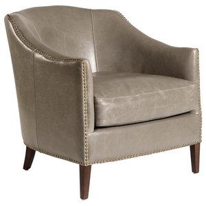 Marvelous Gdf Studio Carlton Tub Design Club Chair With Nailheads Bralicious Painted Fabric Chair Ideas Braliciousco