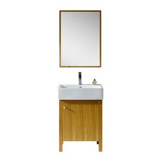 Fine Fixtures Imperial Collection, Light Maple, Vanity With Medicine Cabinet