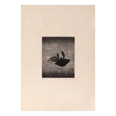 Yozo Hamaguchi, Hermit Crab, Mezzotint