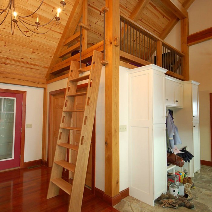 Addition: Timber Frame on Creek Road