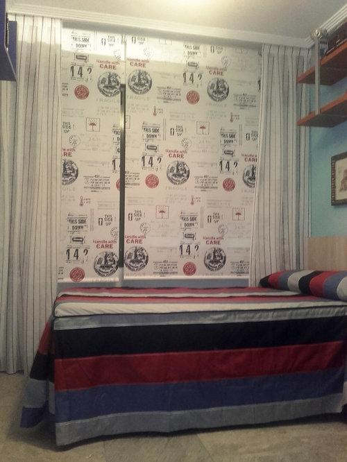 cortinas y estores en habitacin juvenil cortinas habitacion juvenil - Cortinas Habitacion Juvenil