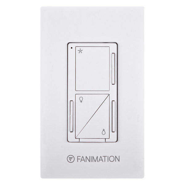 Fanimation WC3 3 Speed Fan and Up / Down Light Wall Control - White