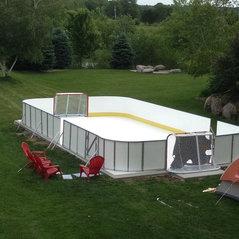 Beau Backyard Synthetic Ice Rink