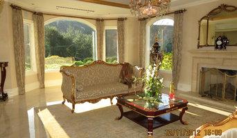 Galaxy Draperies Elegant Homes- Designer Liza