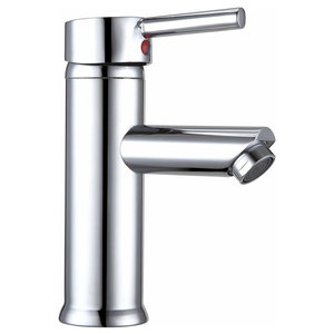 Bathroom Sink With Single Lever, Good Ceramic Cartridge to Open-Stop Water Flow