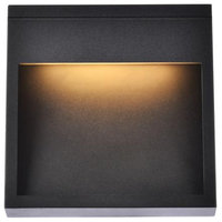 Trendy Fare LED Wall Sconce (Black), Black