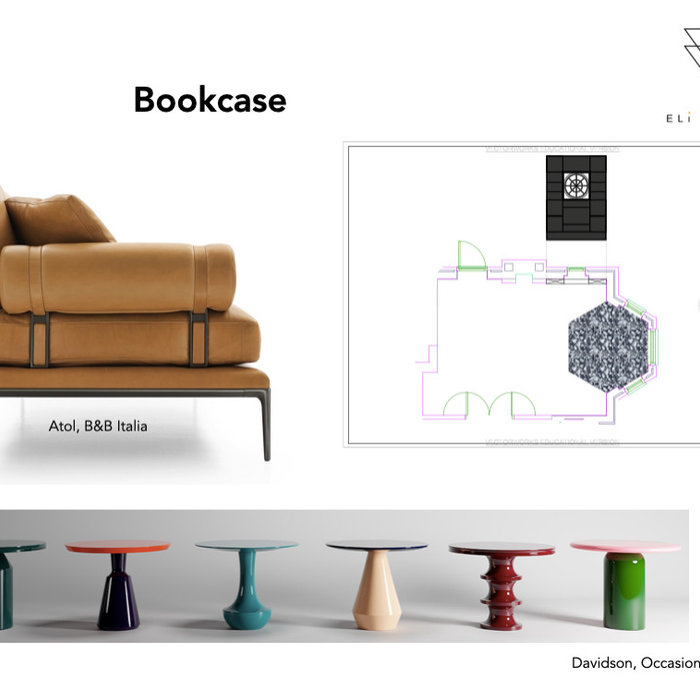 Reading room - Furniture choices