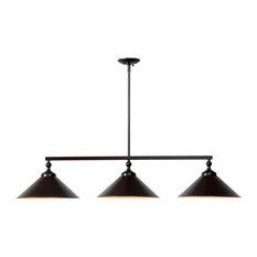 Kenroy 93247ORB Conical - Three Light Pendant