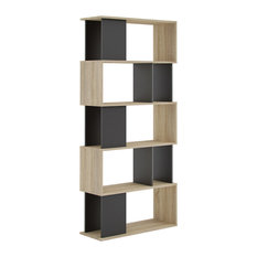 Tvilum - Twist 7 Shelf Bookcase - Bookcases