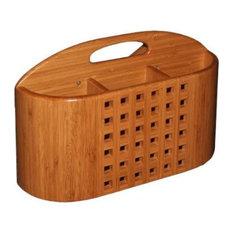 Utensil Holder for Dish Racks - Bamboo