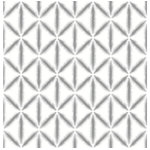 NuWallpaper - Grey Mood Peel & Stick Wallpaper Swatch Sample - In an ikat style, this geometric print will add a subtle eclectic and bohemian accent to a room. The grey and white design will blend seamlessly into a neutral palette, or balance brighter colors. Grey Mood peel and stick wallpaper comes on one roll that measures 20.5 inches wide by 18 feet long. A grey ikat geometric design from the Kelly Ripa NuWallpaper collection; Peel and stick to apply, pull up to remove; NuWallpaper is safe for walls and leaves no sticky residue behind; Easily repositionable while installing; NuWallpaper sticks to any smooth, flat surface�perfect for DIY projects; Ideal for rental or home decorating;Comes on a 20.5-in x 18-ft roll and covers about 30.75 sq. ft.;Design repeat of 5.025-in;This product should NOT be applied to textured walls � smooth clean, dry, painted surface only (no Non-Stick paint or soap residue).