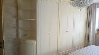 Интерьер  спальни для архитектора Литвиновой Натальи