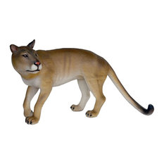 Cougar Life Size Statue Prop Display