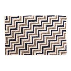 Shades of Brown Wool Rug