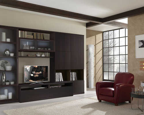 Wall Unit In Wenge ST3000   Entertainment Centers And Tv Stands Part 66