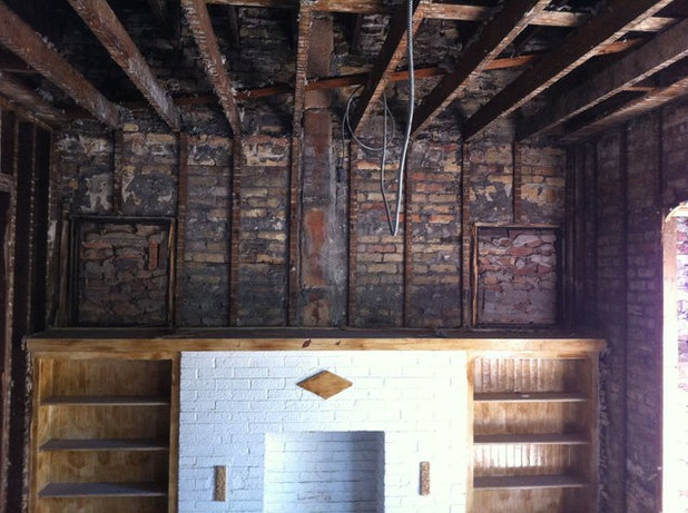 creepy attic door you wont believe what these homeowners found in their walls