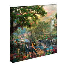 "Jungle Book The, Gallery Wrapped Canvas, 14""x14"""