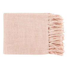 Surya Tilda Throw, Pale Pink