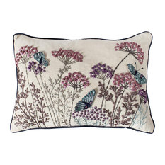 Patterdale Embroidered Cushion