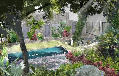 Avant/Après : Un jardin transformé en oasis tropicale à La Réunion