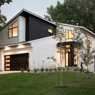 Black and White Modern Contemporary