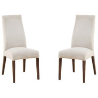 Pemberly Row Keeton Upholstered Parson Dining Side Chair (Set of 2)