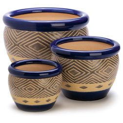 Southwestern Outdoor Pots And Planters by Verdugo Gift Company