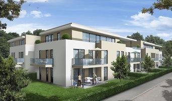 3D Visualisierung eines Wohnbauprojektes in Augsburg.