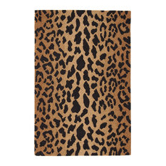 Dash U0026 Albert Rug Company   Dash And Albert Leopard Wool Micro Hooked Rug, 2