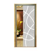 "Pocket Glass Sliding Door, 32""x 80"", Opaque, Right"