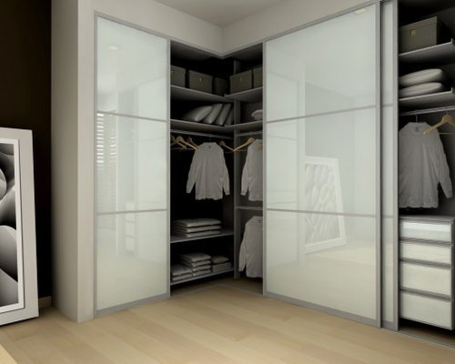 Corner wardrobe houzz Corner wardrobe ideas