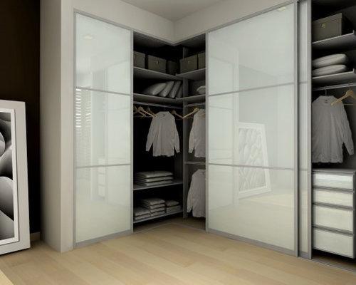 Corner wardrobe houzz - Corner wardrobe design ...