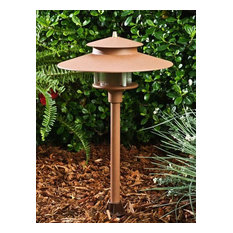 Cast Aluminum Path/Walkway/Area Light 12V, Sand