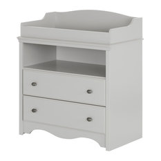 South S Angel Changing Table With Drawers Soft Gray