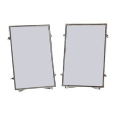Naxos Picture Frames, Silver, 10x15 cm, Set of 2