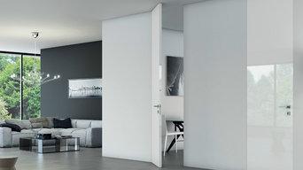 Floor to ceiling doors
