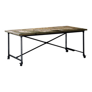 Tiglio Aged Pine Dining Table