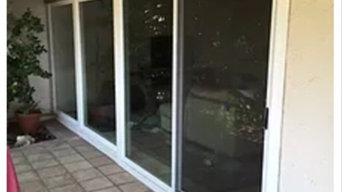 AFTER Door Installation by California Replacement Windows