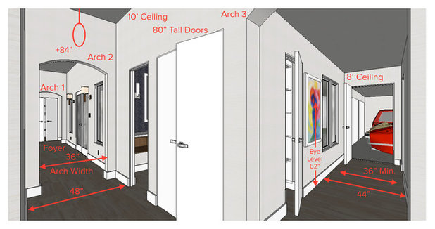 Key Measurements Hallway Design Fundamentals