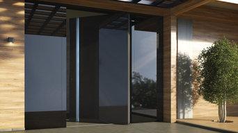 Ультрасовременная входная дверь с эксклюзивным дизайном.