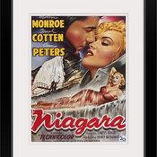 """Niagara (1953)"" Black Framed Art Print, 20""x24""x1"""