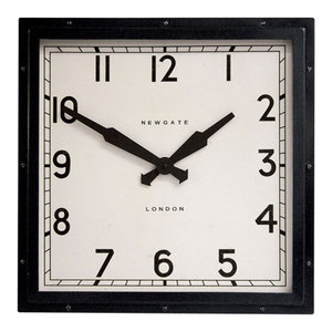 Newgate Quad Clock, Black