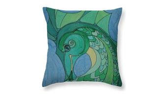 Seahorse - pillow