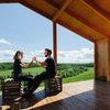 В гостях: Модульный дом с видом на долину реки Протва