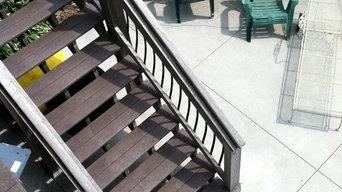 concrete stain patio